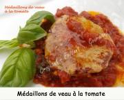 Médaillons de veau à la tomate Index DSCN7836