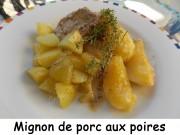 Mignon de porc aux poires Index DSCN0627