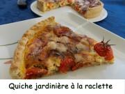 Quiche jardinière à la raclette Index DSCN9489