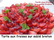 Tarte aux fraises sur sablé breton Index DSCN8151