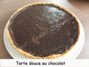 Tarte douce au chocolat Index DSCN1611_21489