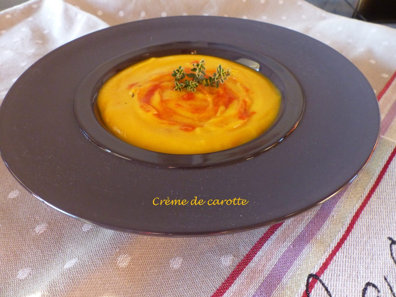Crème de carotte au Thermomix P1080209 R