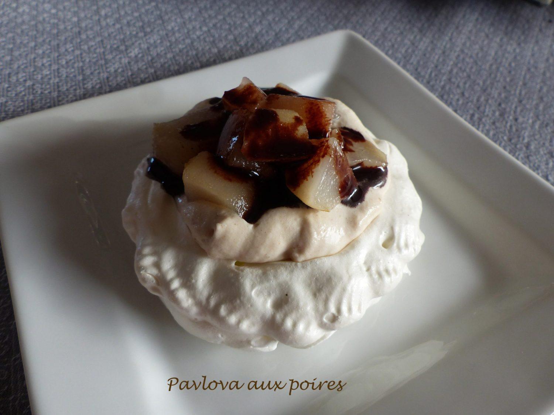 Pavlova aux poires P1070720 R