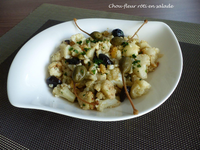 Chou-fleur rôti en salade P1070846 R