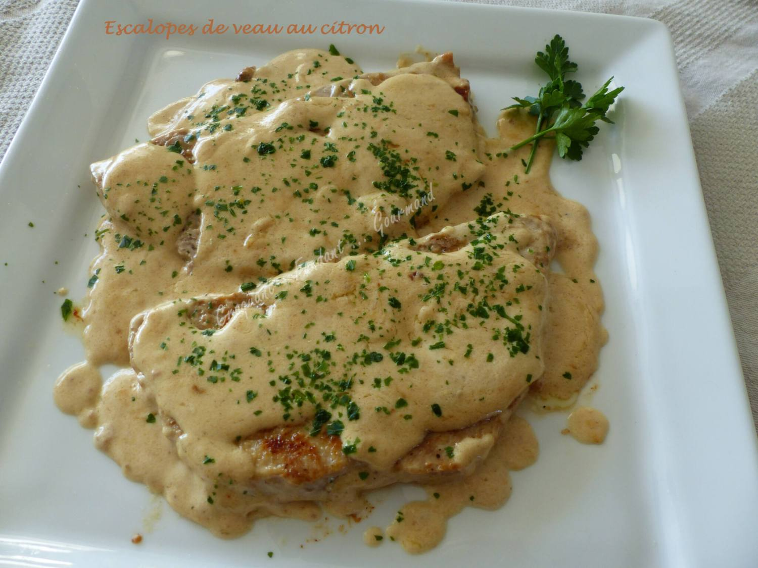 Escalopes de veau au citron P1010812