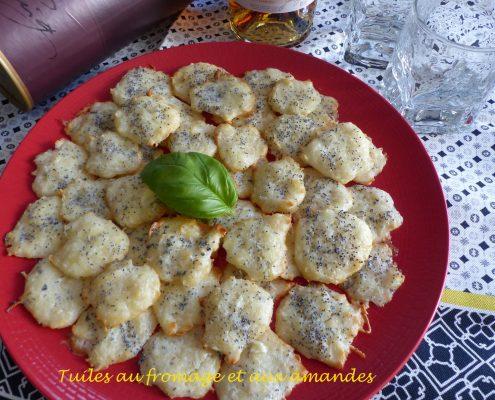 Tuiles au fromage et aux amandes P1090577 R