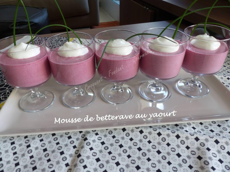 Mousse de betterave au yaourt P1020652