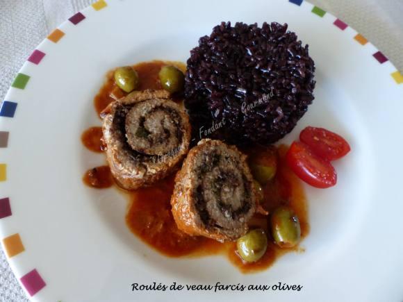 Roulés de veau farcis aux olives P1030035