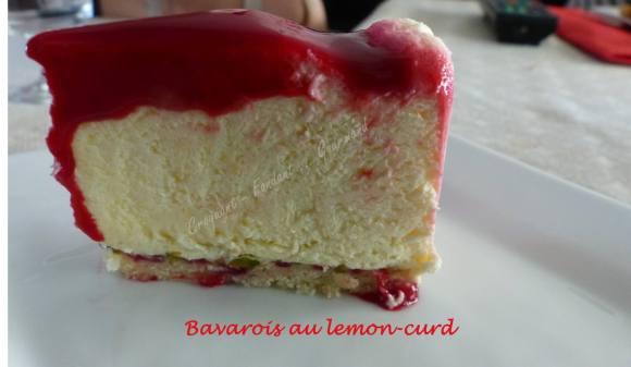 Bavarois au lemon-curd P1030789