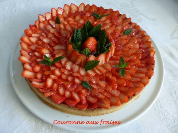 Couronne aux fraises P1030763