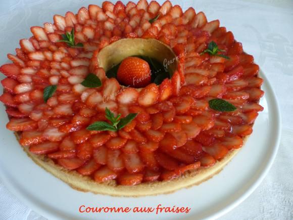 Couronne aux fraises P1030766
