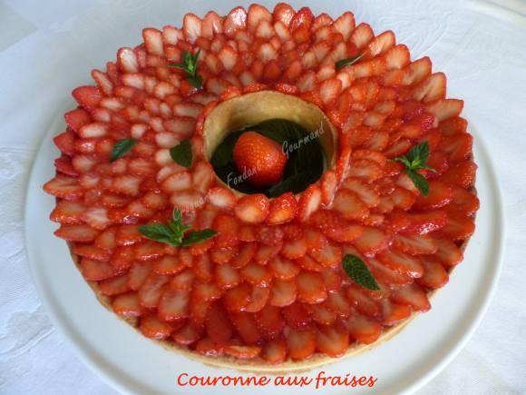 Couronne aux fraises P1030767