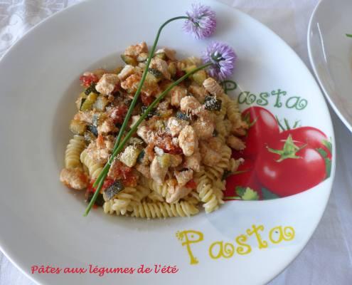 Pâtes aux légumes de l'été P1030648