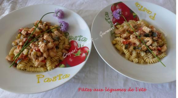 Pâtes aux légumes de l'été P1030649