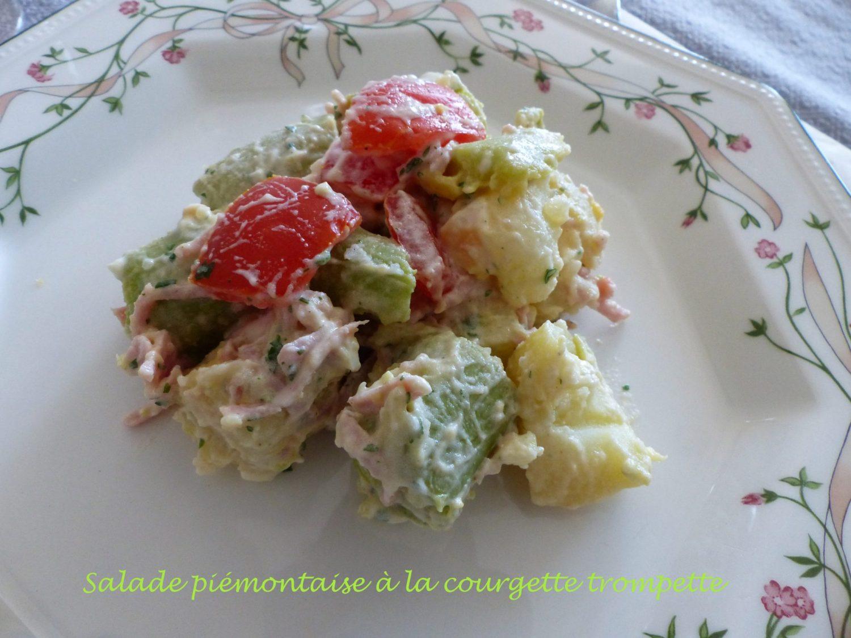 Salade piémontaise à la courgette trompette P1110970 R