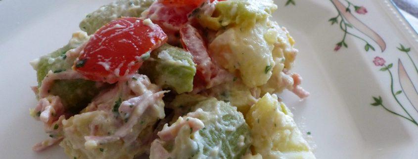 Salade piémontaise à la courgette trompette P1110971 R