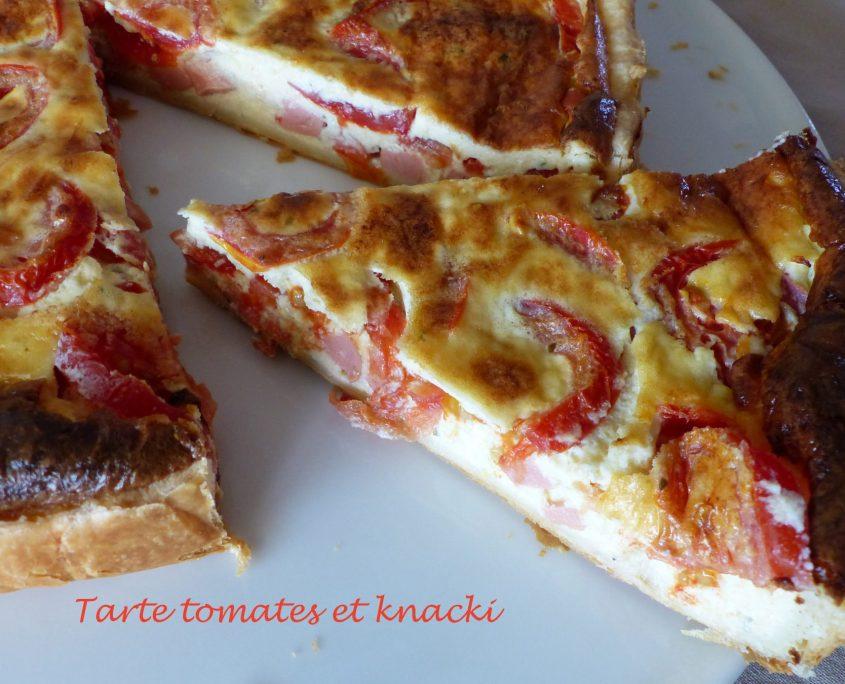Tarte tomates et knacki P1120206 R