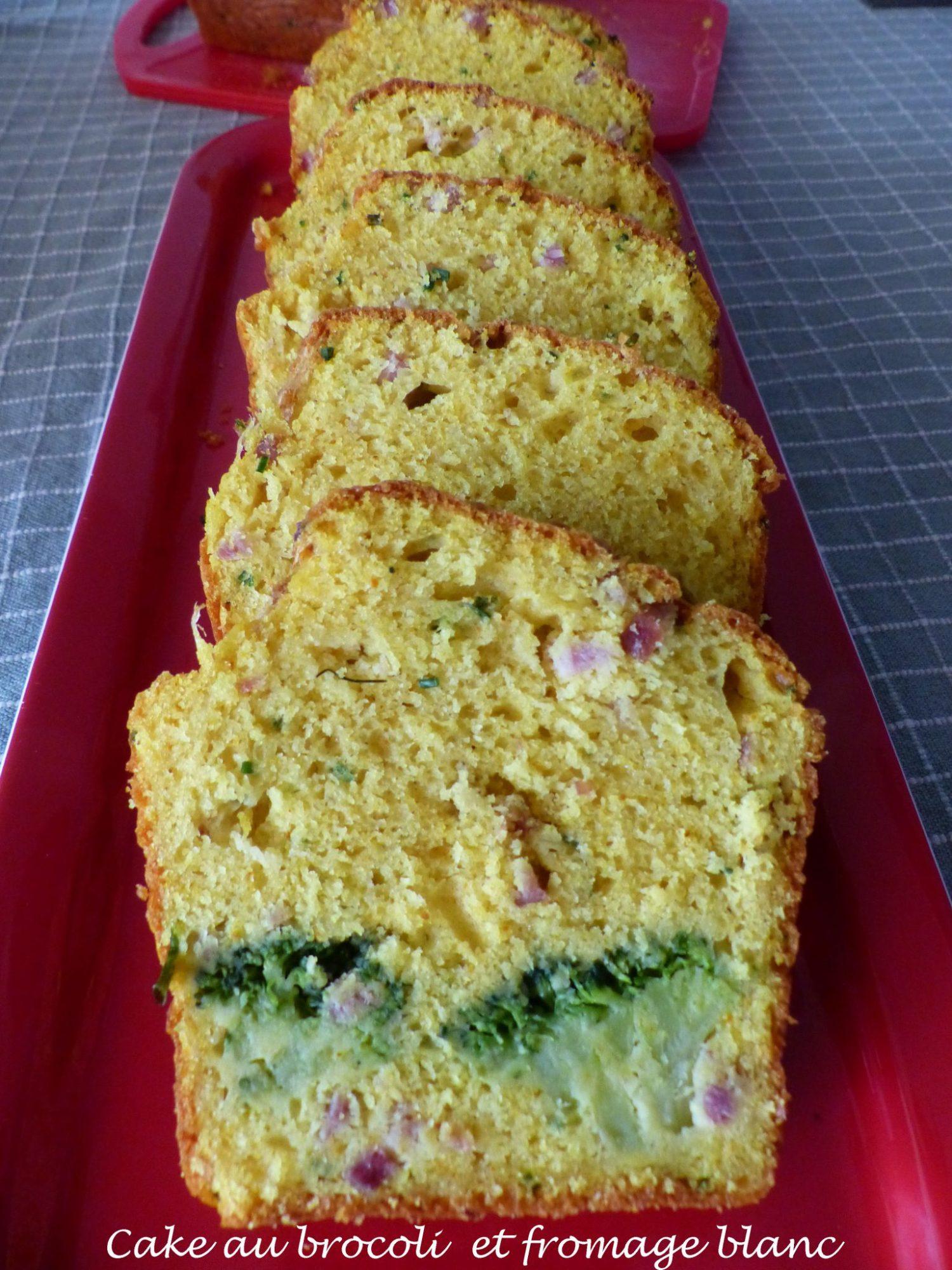 Cake au brocoli et fromage blanc P1120824 R