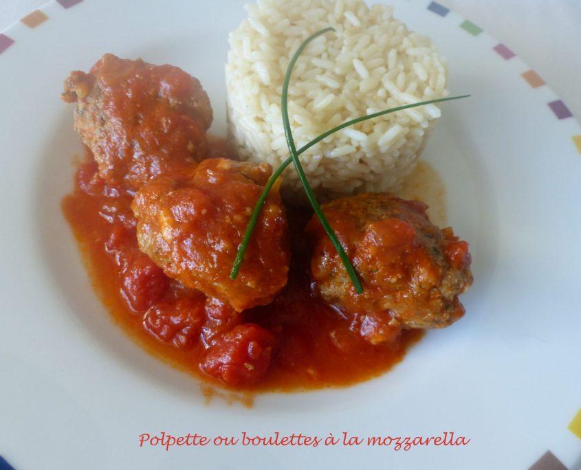 Polpette ou boulettes à la mozzarella P1050571