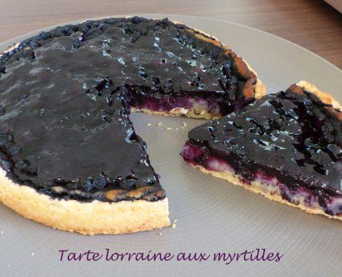 Tarte lorraine aux myrtilles P1130278 R