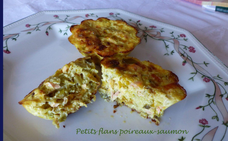 Petits flans poireaux-saumon P1060930 R