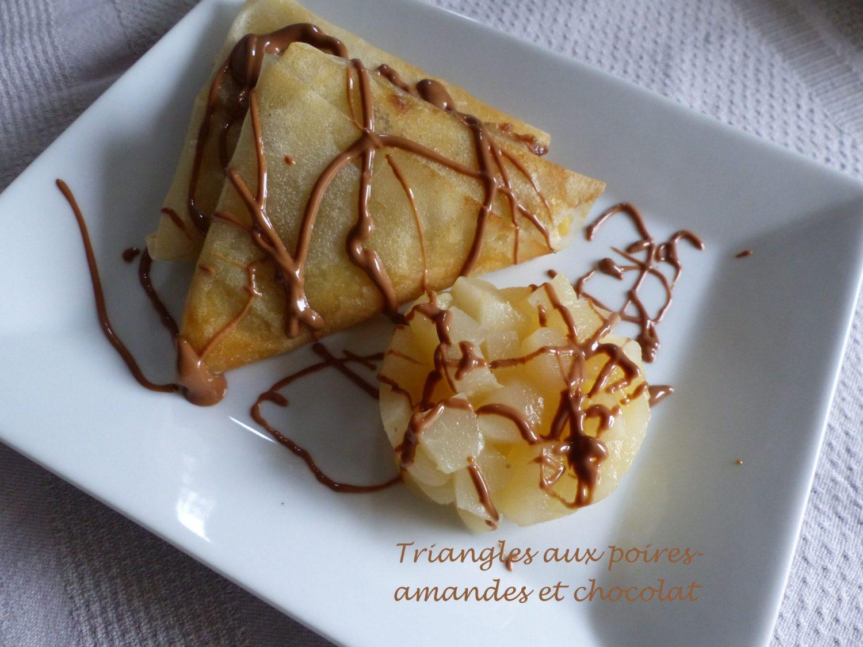Triangles aux poires-amandes et chocolat P1130909 R