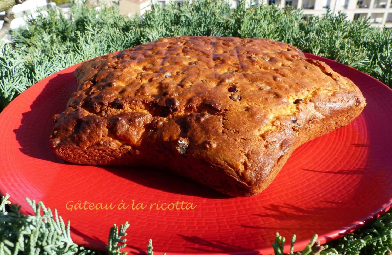 Gâteau à la ricotta ou Torta ricca di ricotta P1140793 R