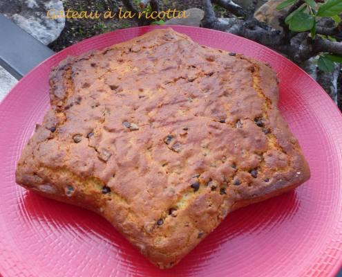 Gâteau à la ricotta ou Torta ricca di ricotta P1140803 R