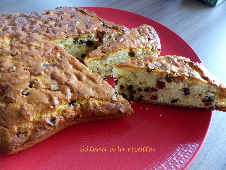 Gâteau à la ricotta ou Torta ricca di ricotta P1140807 R