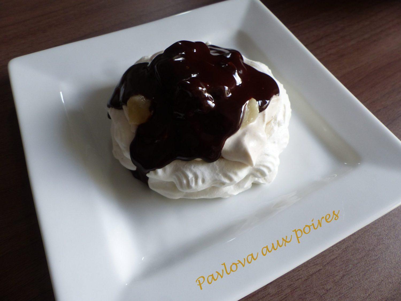 Pavlova aux poires P1080033 R