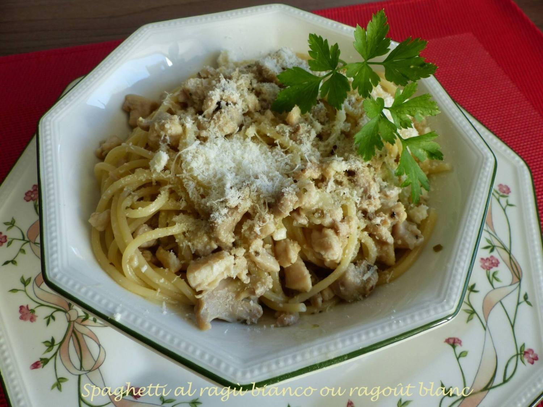 Spaghetti al ragù bianco ou ragoût blanc P1140523 R