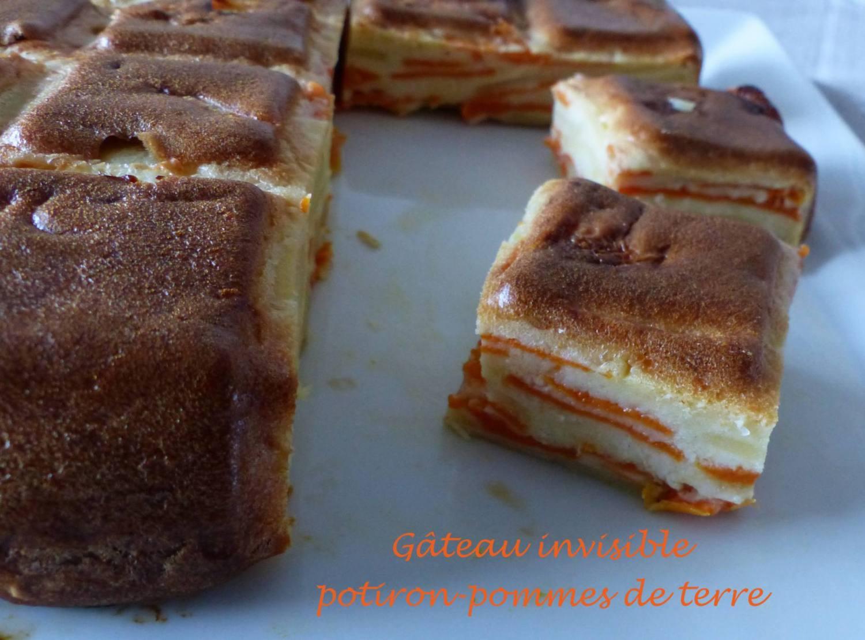 Gâteau invisible potiron-pommes de terre P1140358 R