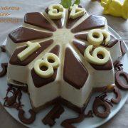 Bavarois poire-chocolat P1090891 R