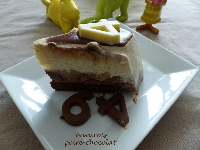 Bavarois poire-chocolat P1090901 R