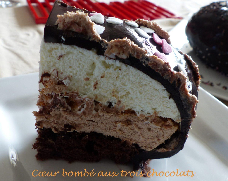 Cœur bombé aux trois chocolats P1090402 R