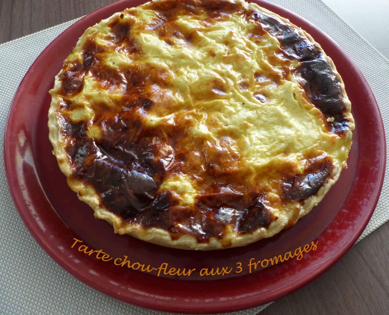 Tarte chou-fleur aux 3 fromages P1150911 R