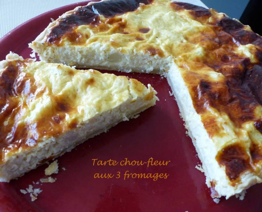 Tarte chou-fleur aux 3 fromages P1150916 R