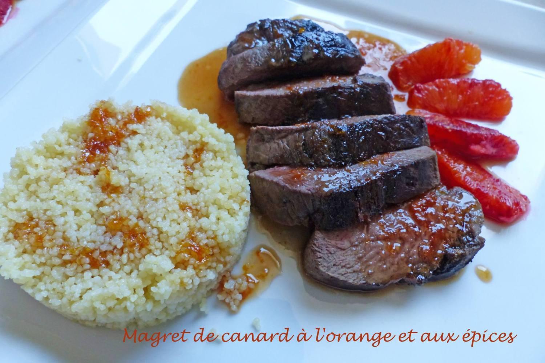 Magret de canard à l'orange et aux épices P1160375 R