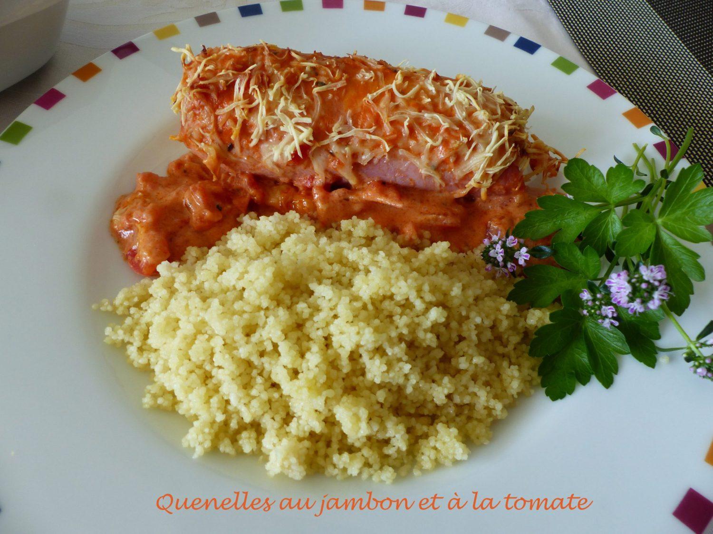 Quenelles au jambon et à la tomate P1100211 R
