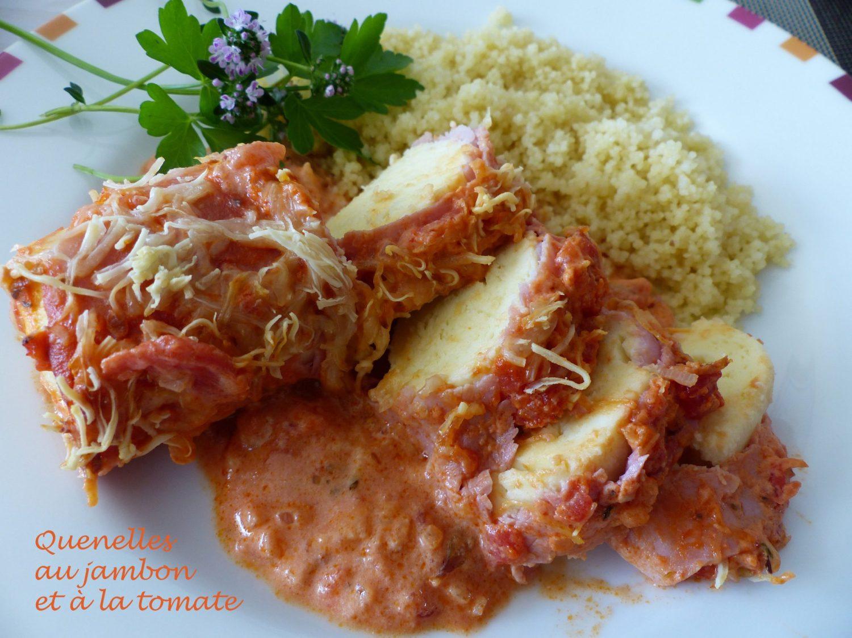 Quenelles au jambon et à la tomate P1100224 R