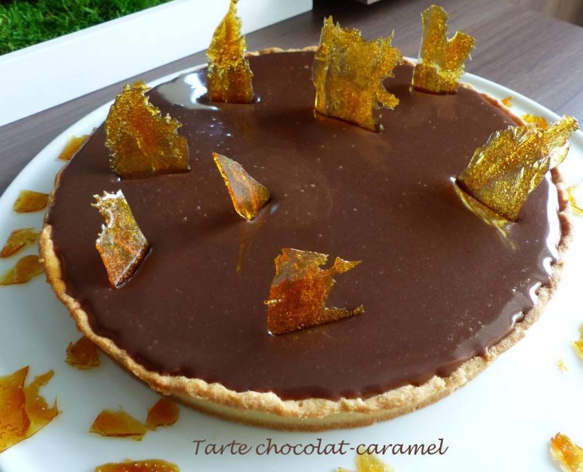 Tarte chocolat-caramel P1160493 R