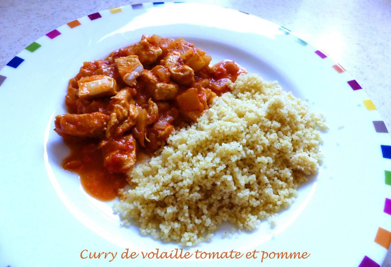 Curry de volaille tomate et pomme P1170382 R