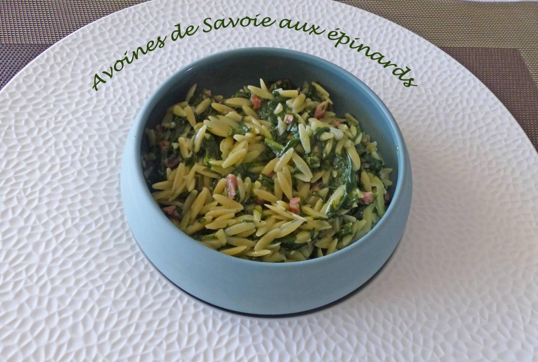 Avoines de Savoie aux épinards P1180088 R