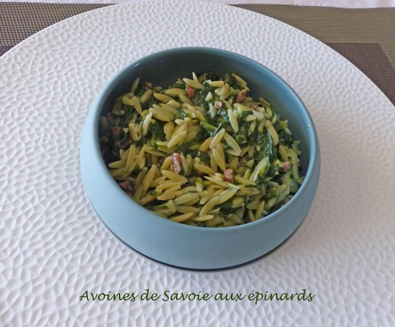 Avoines de Savoie aux épinards P1180089 R