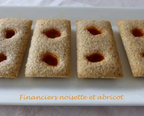 Financiers noisette et abricot P1170991 R