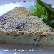 Gâteau chou-fleur et brocoli P1180623 R