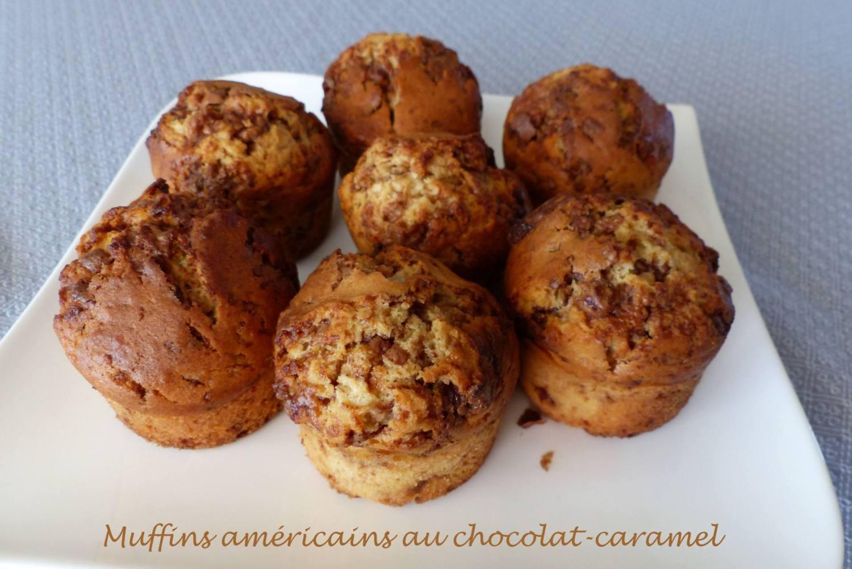 Muffins américains au chocolat-caramel P1180665 R