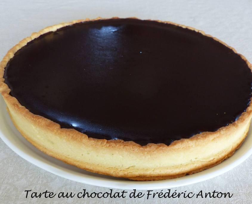 Tarte au chocolat de Frédéric Anton P1180480 R