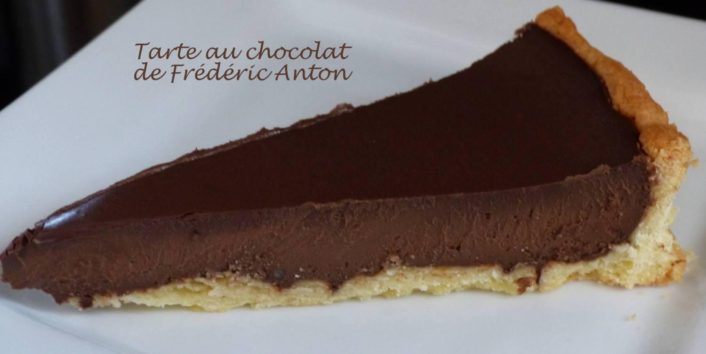 Tarte au chocolat de Frédéric Anton P1180486 R
