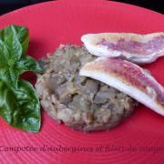 Compotée d'aubergines et filets de rougets P1180525 R